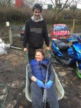 WheelchairWheelbarrow